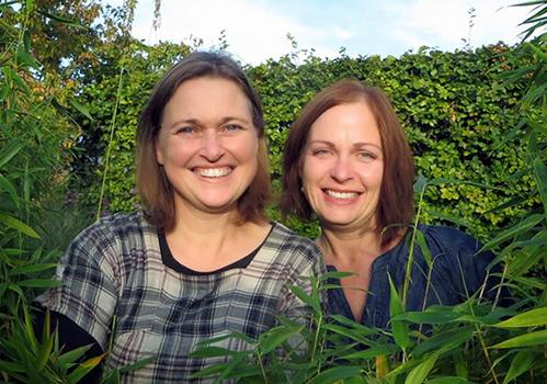 Cecilia Holm och Annica Hansson