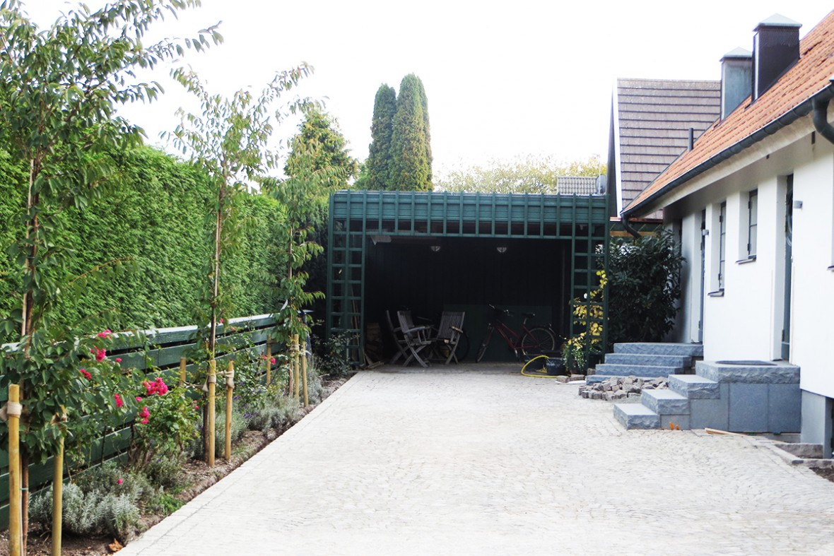trädgårdsentré
